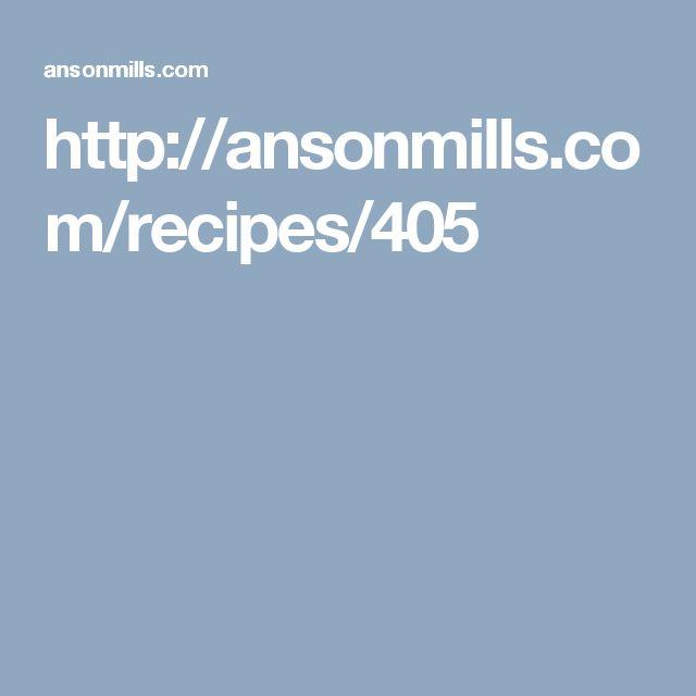 http://ansonmills.com/recipes/405