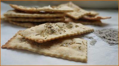 Crackers di Kamut - Ricette di non solo pasticci