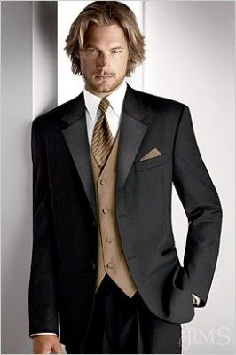 Men's Suits for Men Blonde. Mens suits for Long hair men.