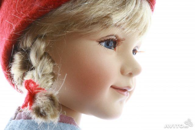 Коллекционные фарфоровые куклы Birgitte Frigast