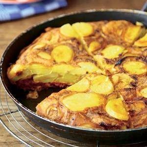 Aardappeltortilla met chorizo recept - Aardappel - Eten Gerechten - Recepten Vandaag