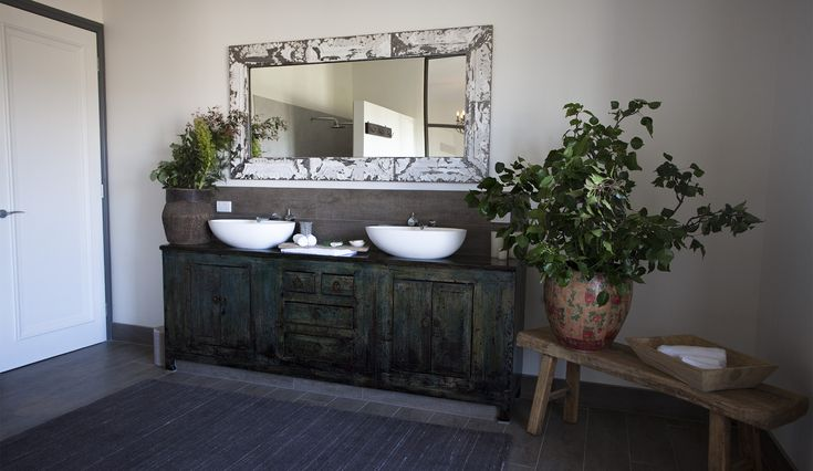 #rustic #bathroom #luxury #relaxing #tuscan #farmhouse #yarravalley #accomodation