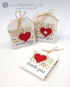 Stampin up mary fish pretty order stamp it ghirardellli treat holders angled topper tag punch occasions catalog