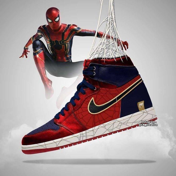Avengers Endgame Air Jordans Designs Marvel Shoes Avengers Shoes Sneakers Men Fashion