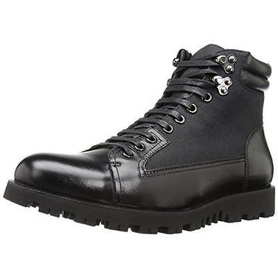 Zanzara 9634 Mens Cremona Black Leather Ankle Boots Shoes 10.5 Medium (D) BHFO | eBay
