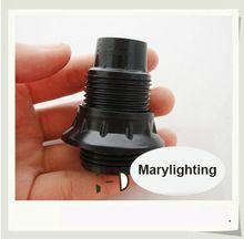 10 STKS CE E14 Bakeliet Volledige Draad Lamphouder DIY Tafellamp Houder Light Lamp Socket Vintage Industriële Lampen Houder(China (Mainland))