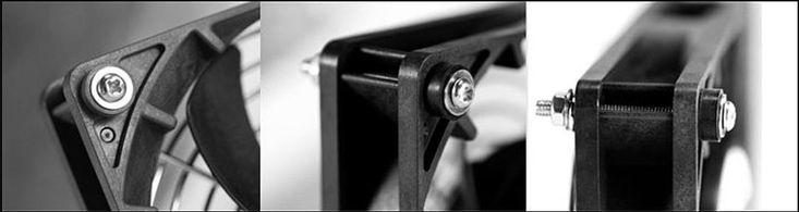 Anti Vibration 3mm Fan Rubber Grommet