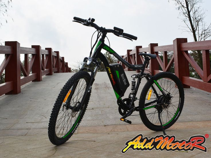 Electric Mountain BIKE For Sale H1 48V 500W Bafang Motor 10.4 AH Addmotor HITHOT #ADDMOTOR