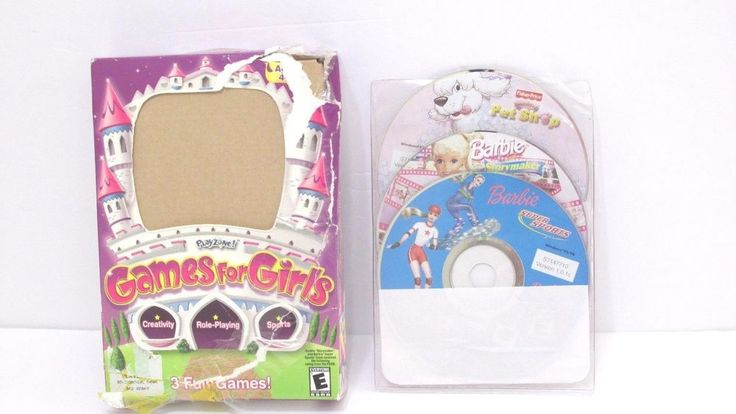 Barbie Games For Girls Play Zone Set Of 3 Software Pre-Owned #Barbie