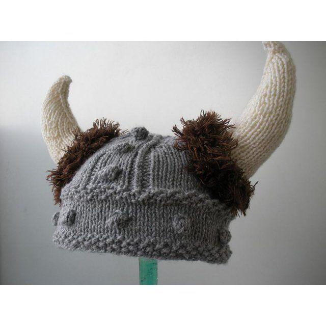 Lael Viking Hat Sizes Newborn To Adult Vikings Crochet And