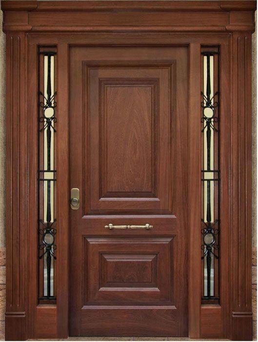 M s de 25 ideas incre bles sobre puertas principales de - Puertas de calle de madera ...