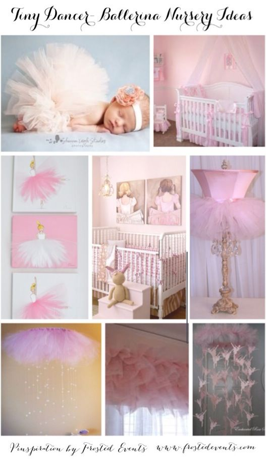 Gorgeous Ballerina Nursery Ideas and Inspiration- ballerina theme nursery, ballerina crib, ballerina bedding, ballerina prints, baby girl nursery, pink nursery @frostedevents  Frosted Events- frostedevents.com