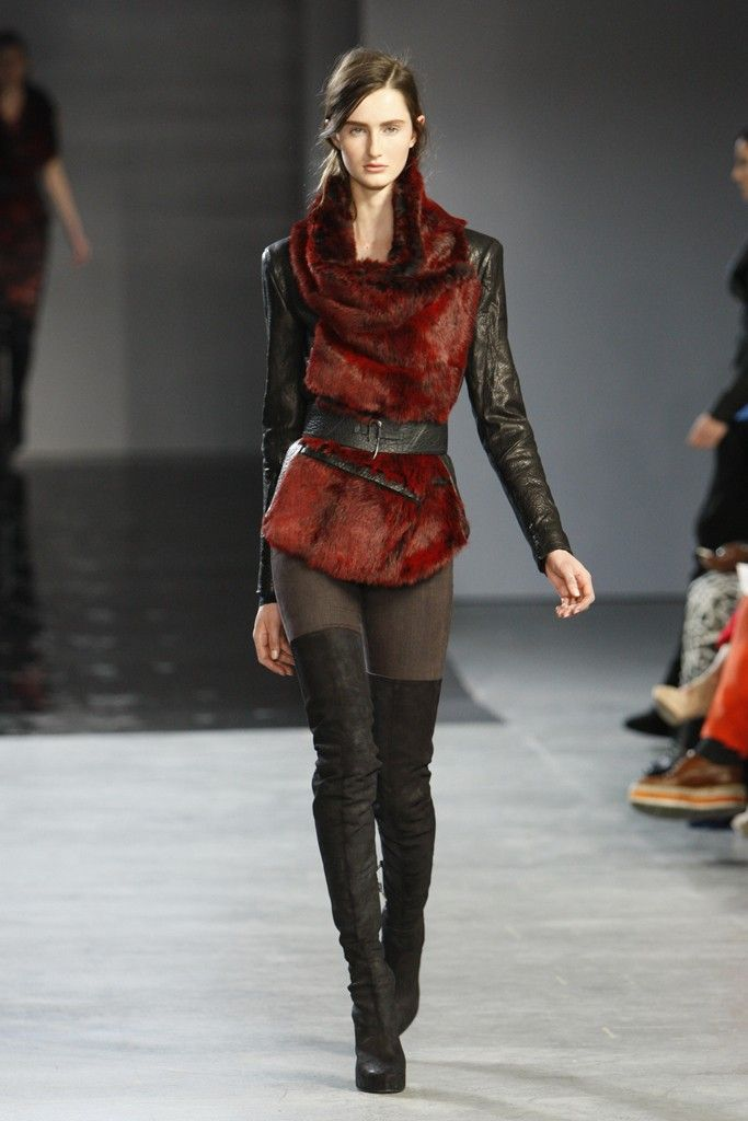 Helmut Lang RTW Fall 2012, Inspired by Game of Thrones