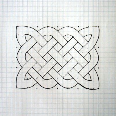 way cool... how to draw a celtic knot by Michelle Houghton