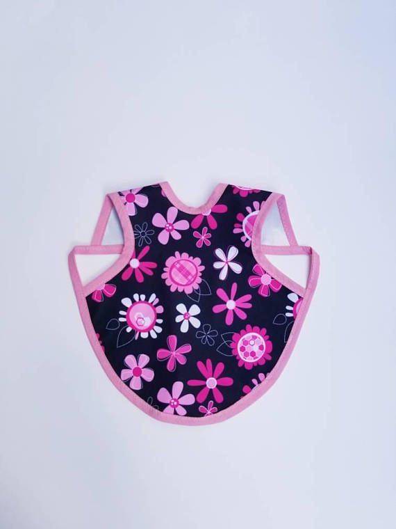 $7.55 Flower Power Waterproof Bapron, fots 6 months to 18 months! Please let me know what you think!! https://www.etsy.com/listing/553110067/6m-18m-bapron-baby-bapron-pul-waterproof
