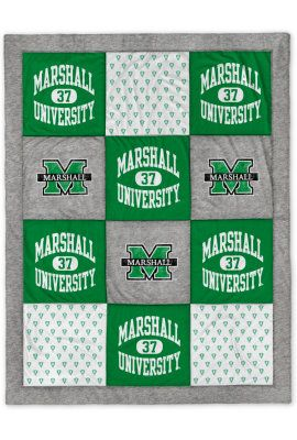 Marshall University blanket, perfect for staying warm this winter! Product: Marshall University 62
