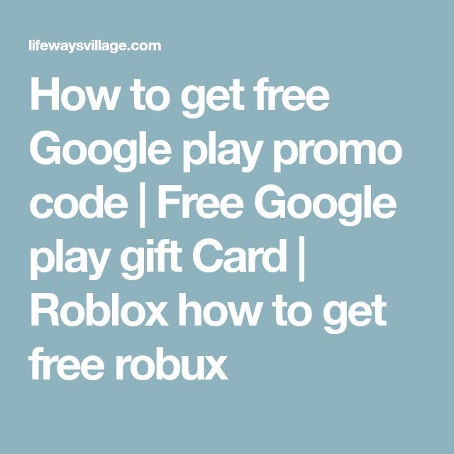 How to get free Google play promo code | Free Google play gift Card | Roblox how to get free robux
