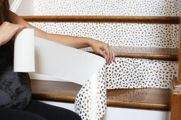 Como Papel de Parede Escadas   – Wallpaper DIY Applications