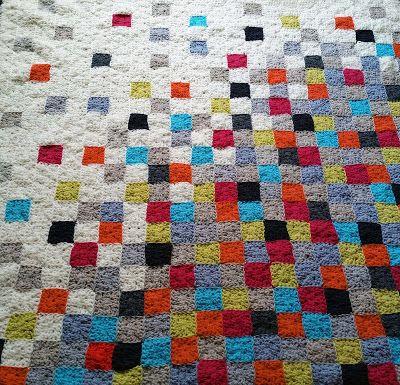 Boom - Modern Granny Blanket