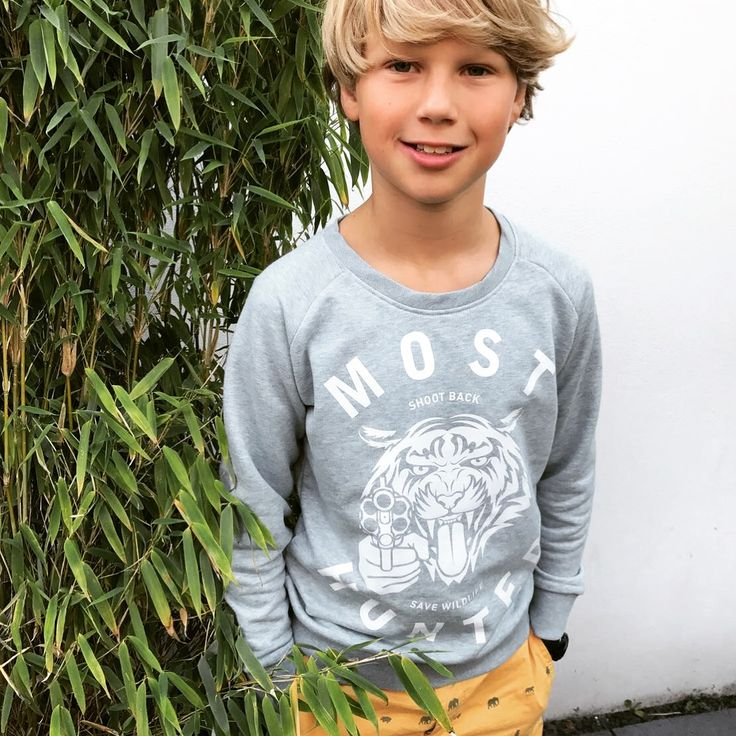 Cool boys like you make our Mondays magnificent. Thnx for saving wildlife with us Mats!   #mosthunted #coolboy #fashionstatement #shootback #savewildlife #iprotecttigers #lookgood #beastlygood #kidsloveanimals #lovelife #lovewildlife #endextinction #tigersweater #kidssweater #kidswear #kidsmodel #loveit #wearit #shareit #jointhepack mosthunted.com #beastly #good #streetwear
