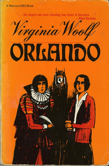 """Orlando"" by Virginia Woolf. ...oh how I love this! <3 [a *must read*] ...even the film was interesting ;)"