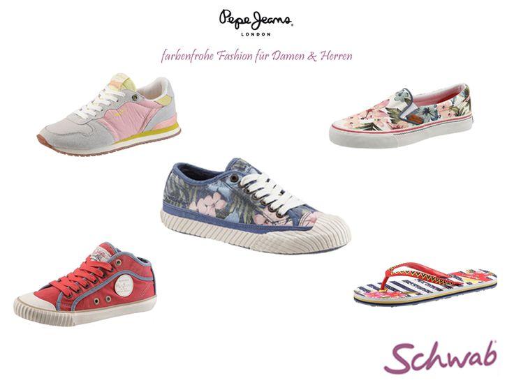 Von #Pepe #Jeans findet Ihr bei uns angesagte Schuhe für Freizeit