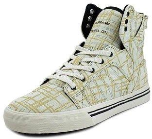 Supra Skytop Round Toe Canvas Tennis Shoe.