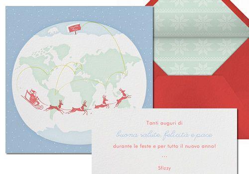 Paperless: biglietti d'auguri elettronici personalizzati - ecard auguri Natale