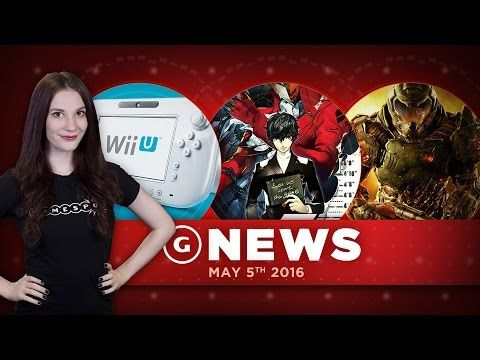 """Persona 5 Release Date & GameStop CEO Calls Wii U """"Disappointing"""" - GS D..."""