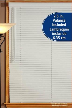 """White 1.5"""" Room Darkening Mini Blind available from Walmart Canada. Shop and save Home & Pets at everyday low prices at Walmart.ca"""