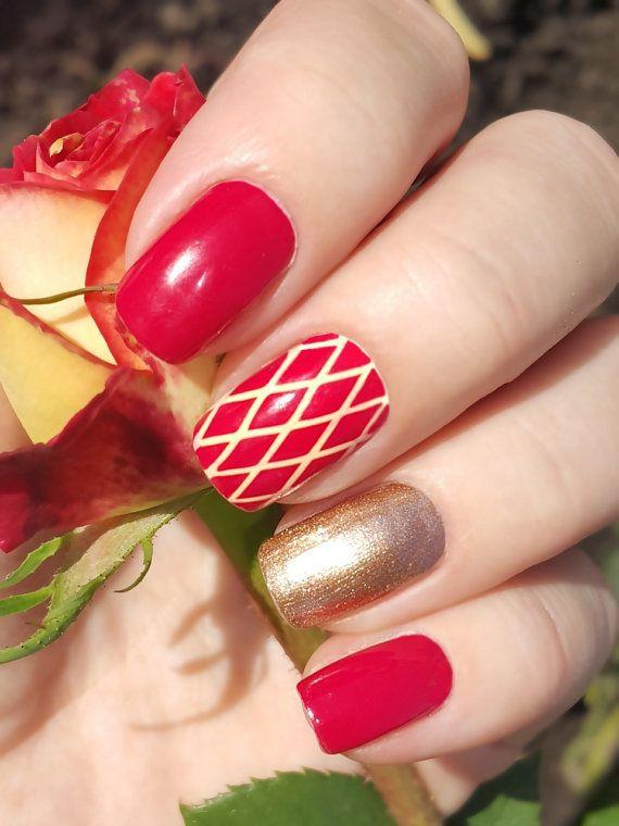Circus nail art vinyls - incredible nail stencils by Unail - £3.90