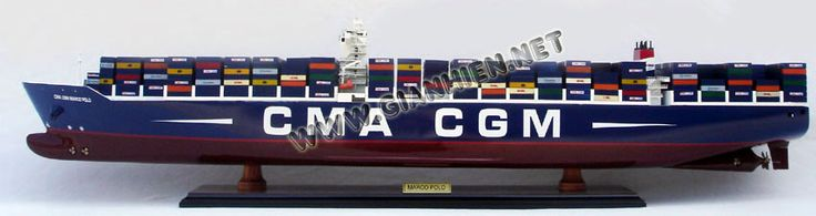 CMA CGM Marco Polo is a UK-registered container ship in the Explorer class owned by the CMA CGM group. On 6 November 2012, it became the largest containership in the world measured by capacity (16,020 TEU), but was surpassed on 24 February 2013 by the Maersk Triple E class (18,270 TEU).