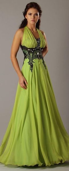 Tony Chaaya ~ Ok, so I know this makes me a terrible person, but I love everything about this dress except the color.