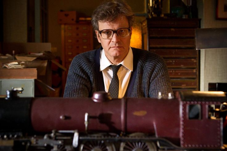"""Studio still from """"The Railway Man,"""" 2013, directed by Jonathan Teplitzky with Nicole Kidman, Colin Firth and Jeremy Irvine. Colin Firth's and Jeremy Irvine's bespoke frames throughout the film were handmade in England by General Eyewear."""