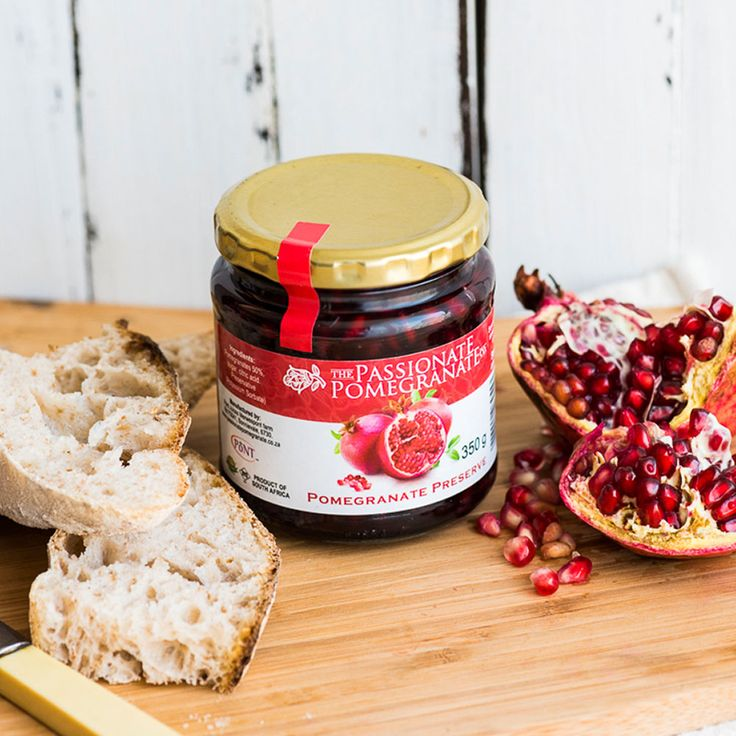 The Passionate Pomegranate Co Preserve