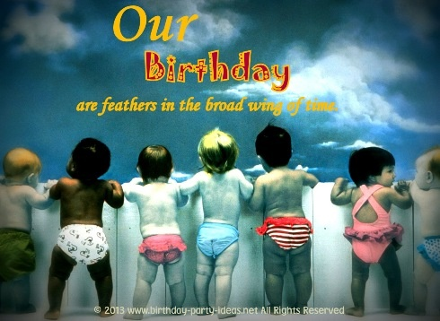 Hillarious Happy Birthday Sayings Our Birthdays Are