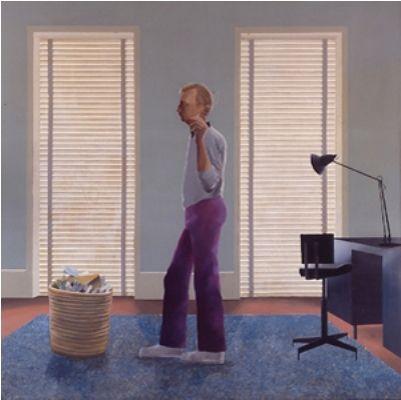 David Hockney Room Paintings