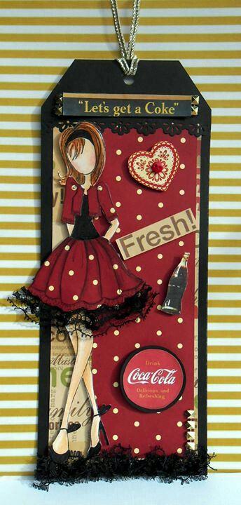 By Elisabeth Sarkis prima doll stamps