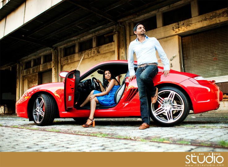 engagement photos porsche - Google Search