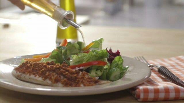 Tilapia en croûte fromagée / cuisine futée