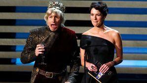 "Andy Samberg as King Joffrey, ""Mummy, I think I've been poisoned..."""