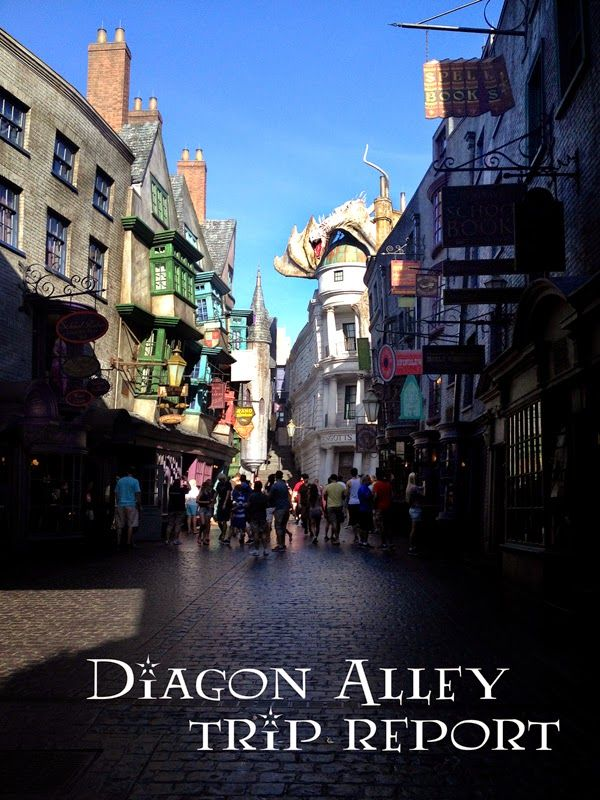 Diagon Alley trip report: Photos, prices, tips. A detailed post about the newest addition to The Wizarding World of Harry Potter @ Universal Orlando.
