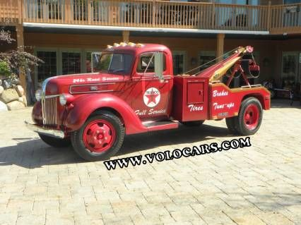 For Sale 1941 Ford 1 1 2 Ton Tow Truck Oldride Com