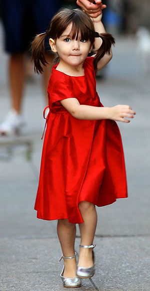 Suri Cruise's Cutest Outfits - A Helena & Harry Dress from #InStyle