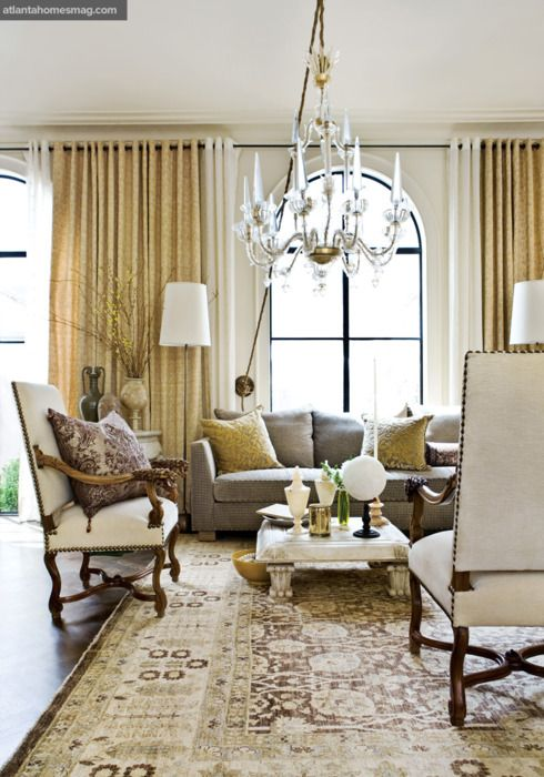 Living Room, Barry Dixon. Atlanta Homes & Lifestyles