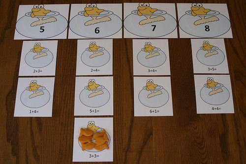Montessori-Inspired One Fish, Two Fish Math Activities