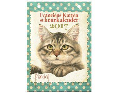 Nieuw! Franciens Katten Scheurkalender!