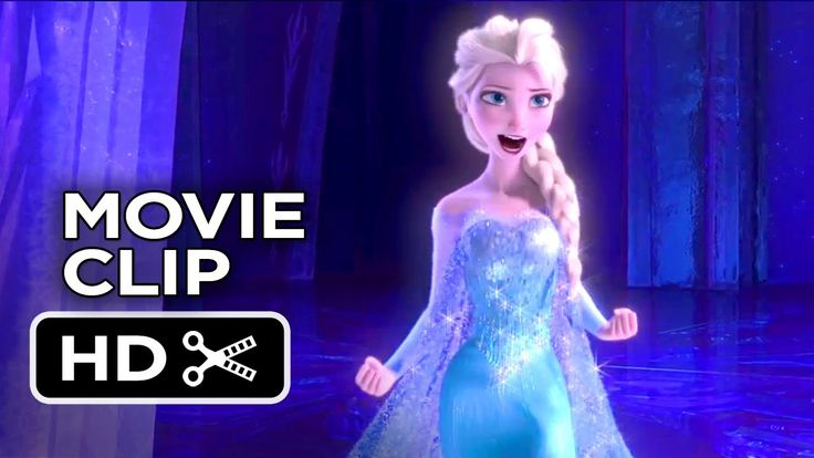 New clip from #Frozen! Elsa sings 'Let It Go.'
