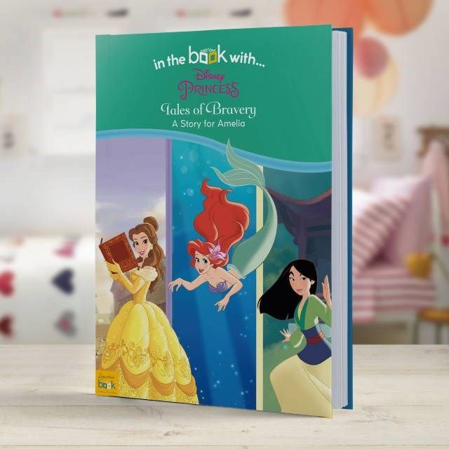Personalised Children's Book - Disney Princesses' Tales of Bravery | GettingPersonal.co.uk