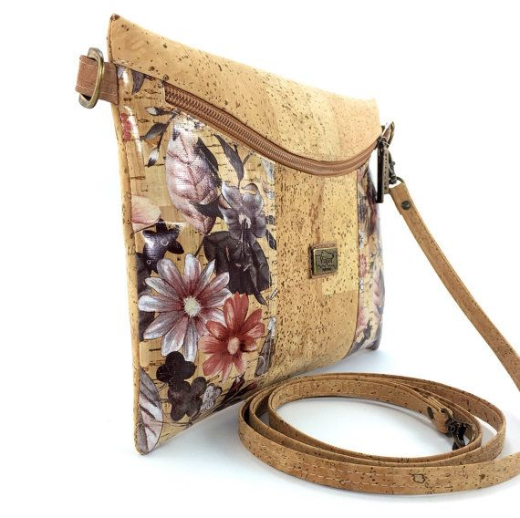 Cute Cross Body Cork Bag, Clutch Purse with FREE SHIPPING, Ladies Bag,Cork HanbagEco-friendly,Vegan Product,Liège,Kork,